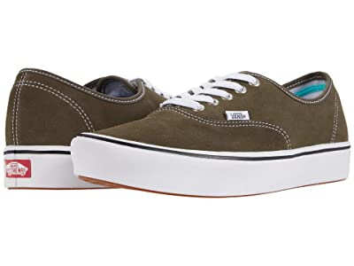 Vans ComfyCush Authentic ((Suede) Canteen) Athletic Shoes