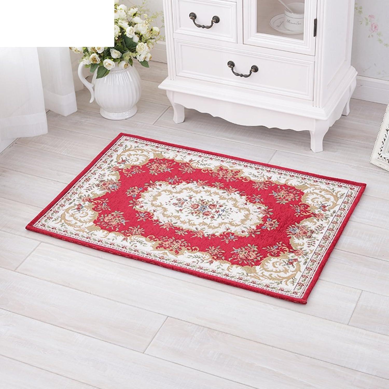 Doormat Door,mats in The Hall Bedroom,Indoor mats European-Style Floor mats Indoor mats Doormat-H 90x140cm(35x55inch)