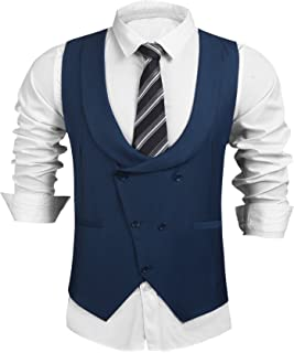 cornflower blue vest