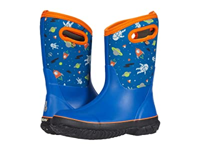 Bogs Kids Classic Spaceman (Toddler/Little Kid/Big Kid) (Blue Multi) Boy