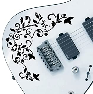 Customized Pro Design Vine of Life Decal Sticker Pack fits All Guitars 24 Color Choices