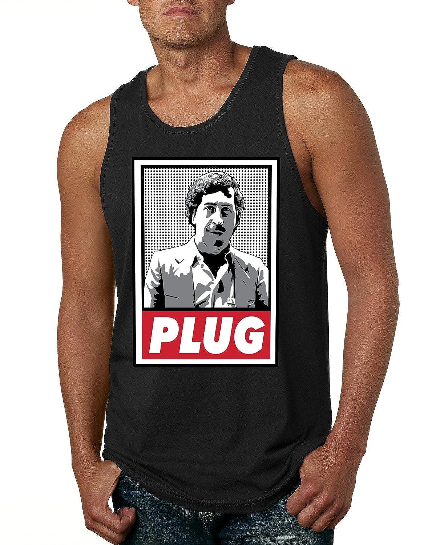 Pablo EscobarプラグCocaine Cowboys Narcosメンズファッションタンクトップ