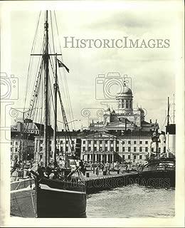 Vintage Photos 1980 Press Photo Helsinki Harbor, Baltic Sea, Finland - ftx02760 - Measures 10.25 x 8.25 in. - Historic Images