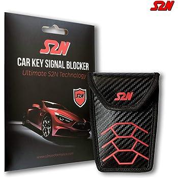 Scorpeon Custodie bloccasegnale per Chiavi Auto Borsa Faraday per Chiavi Auto Black Edition