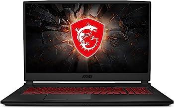 "MSI GL75 9SDK-057 17.3"" FHD 120Hz Gaming Laptop, Intel Core i7-9750H, NVIDIA GTX 1660Ti, 16GB, 512GB NVMe SSD, Win 10"