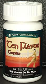 ten flavor tea pills