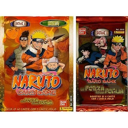 Mazzo Naruto Serie 5 Card Game Starter Tradimento L/'eredità del Sogno Panini