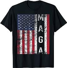Donald Trump Maga American Flag Shirt