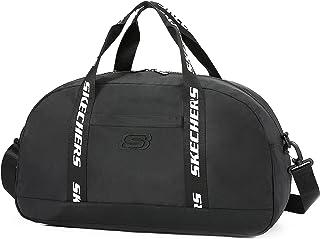 Skechers Reisetasche Weekender Tasche mit Schultergurt Wasserdicht für Unisex, Handgepäck für Fitnessstudio, Sport, Reise...