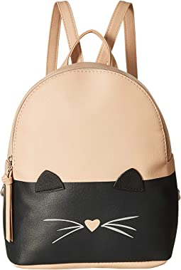 Two-Tone Cat Backpack