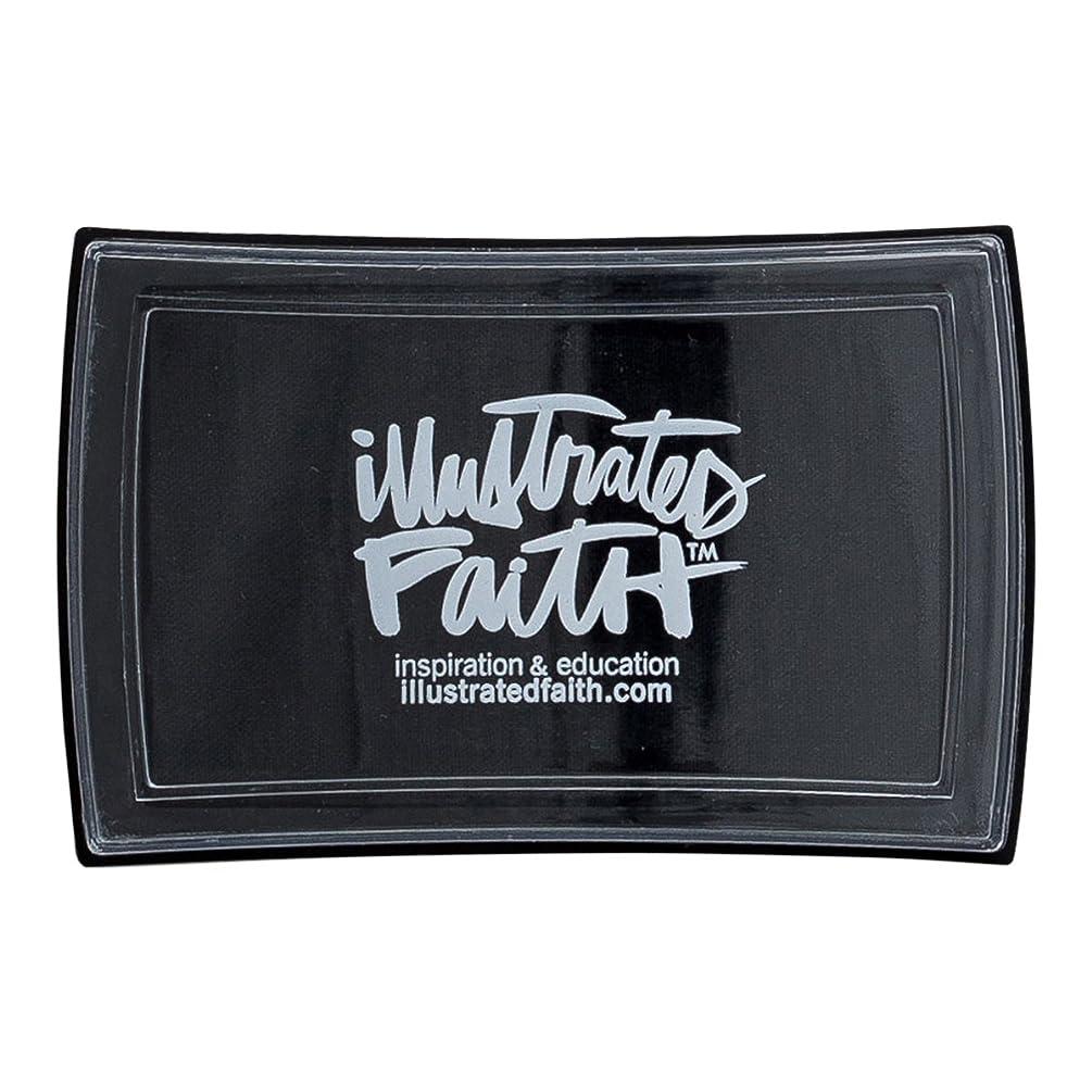 Illustrated Faith - Ink Pad - Black Eyed Pea