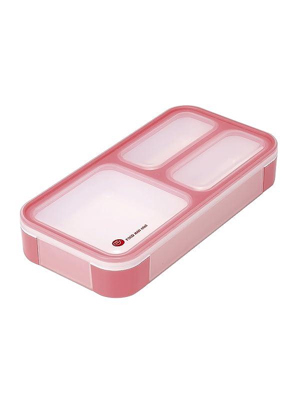 変換する臨検自由シービージャパン 弁当箱 チェリーピンク 薄型 フードマン 400ml DSK