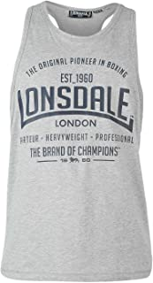 Lonsdale Mens Boxing Sleeveless Vest Top