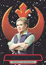 2016 Topps Star Wars The Force Awakens S2 Heroes of the Resistance #1 Leia Organa