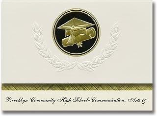 Signature Announcements Brooklyn Community High School-Communication, Arts & Graduation Announcements, Presidential Elite ...