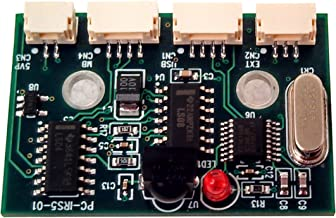 Inteset Internal IR Receiver for Kodi and Other Media Applications on Any Motherboard Running Windows or Linux. Wakes from The Off State(S5). Model PC-IRS5-01 with External IR Extender Kit