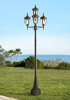 Bellagio Outdoor Post Light Veranda Bronze 102