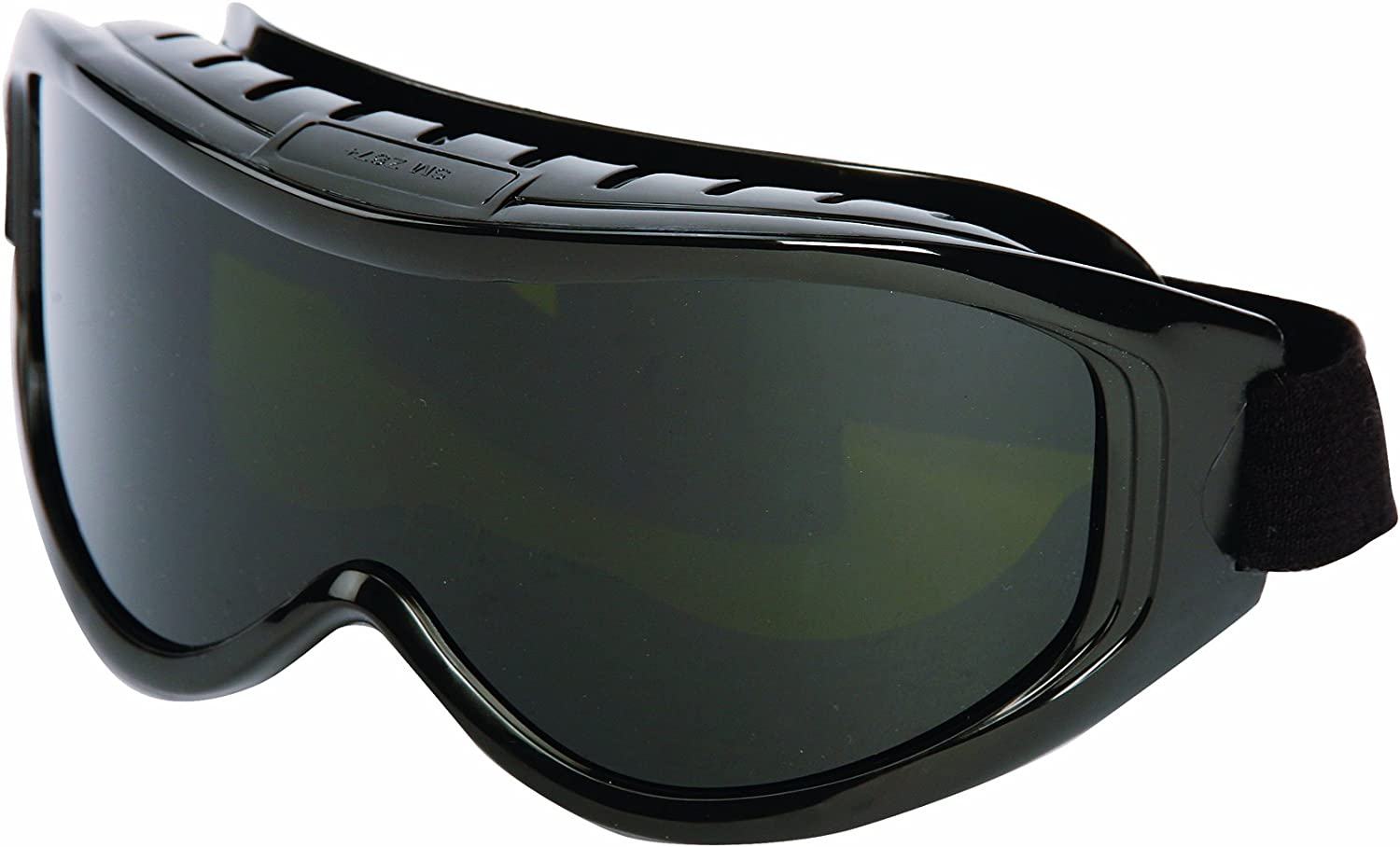 Sellstrom 80211 Odyssey II High Temperature Cutting Goggle, Shade 5 IR Lens, Black Indirect Vent Goggle Body, Packaged in a Point of Sale Clam