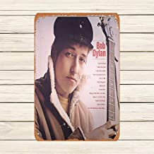 Mariner Bob Dylan'S Album Where's Your Gravity Vintage Look Aluminum Funny Art Decor Movie Poster Vintage Tin Sign Dorm Game Room 12 X 8 in