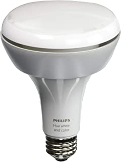 Philips Hue White and Color Ambiance 1st Generation BR30 60W Equivalent Dimmable LED Smart Flood Light (Older Model Compatible with Amazon Alexa Apple HomeKit and Google Assistant)