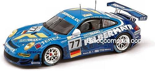 Spark Model S1909 Porsche 997 GT 3 N. 77 LM 2008 1 43 MODELLINO DIE CAST Model kompatibel mit
