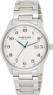 Kenneth Cole New York Men's KC50841001 Analog Display Quartz Silver Watch