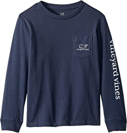 Long Sleeve Vintage Whale (Toddler/Little Kids/Big Kids)
