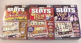 IGT Slots Bundle Lobstermania Texas Tea Wolf Run PC & MAC