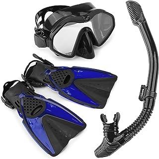 Arkmiido Ultra Dry Schnorchel, Pack de Snorkel, Unisex