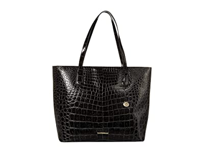 Brahmin Veil Misha Tote (Black) Tote Handbags