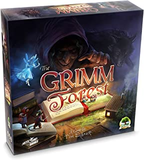 The Grimm Forest | A Fairytale Inspired Strategy Board Game | Competitive Fun for Teens and Adults with Miniatures | Great Replay Value, 2-4 Players | 45-60 Minutes, Ages 13 and Up