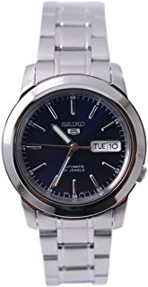 Seiko Men's SNKE51K1S Stainless-Steel Analog with Blue Dial Watch