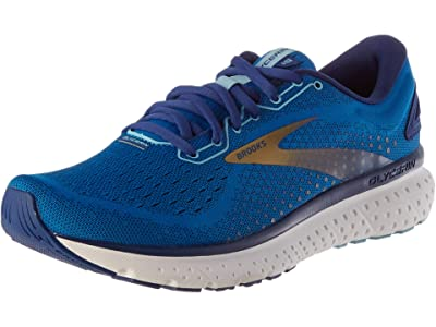 Brooks SINGLE SHOE Glycerin 18 (Blue/Mazarine/Gold) Men