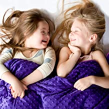 Harkla Kids Weighted Blanket (10lbs) - Great for Sensory Seekers - Weighted Blanket for Children Weighing 70 to 90-pounds - Price Includes Duvet Cover & Weight