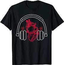 Listen To Your Heart - DJ Headphones Heartbeat T-Shirt