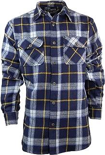 Men's Classic Plaid Button Down Shirt | Heavyweight Cotton Flannel