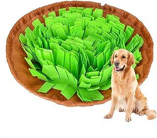 ペットおもちゃ 嗅覚訓練マット Fohil 犬猫用 ノーズワーク マット 訓練毛布 餌隠しマット 知育玩具 遊び場所 運動不足 ストレス解消 食いちぎる対策 収納可能 小中型犬/猫に対応