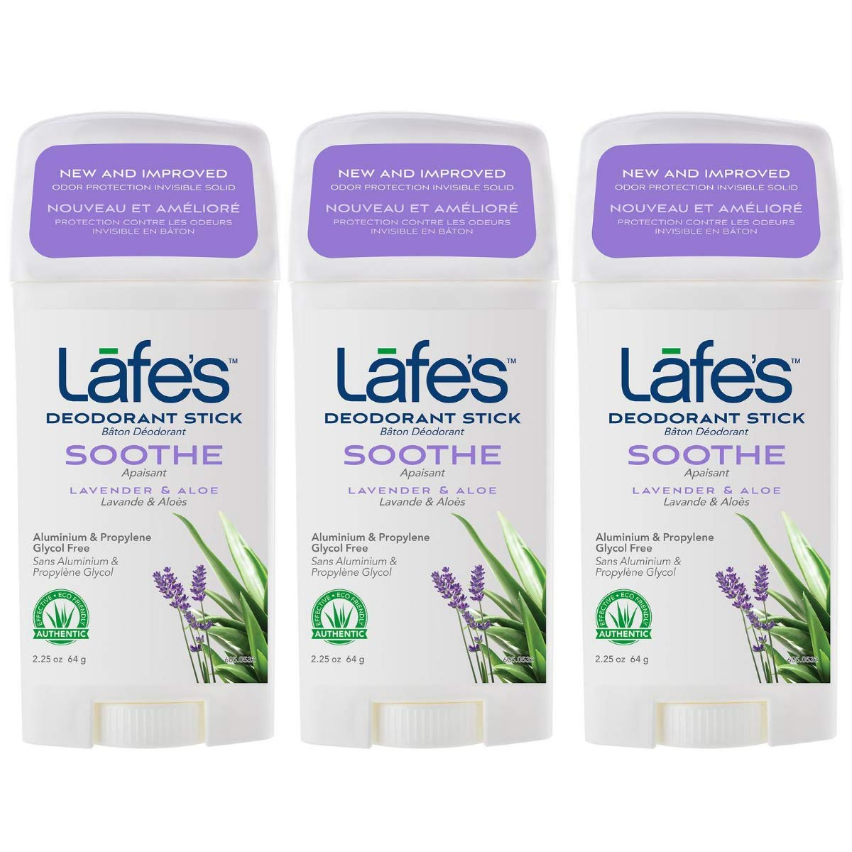 Special price for a limited time Lafe's Soothe - Lavender Aloe Free Special Campaign Natural Deodor Aluminum