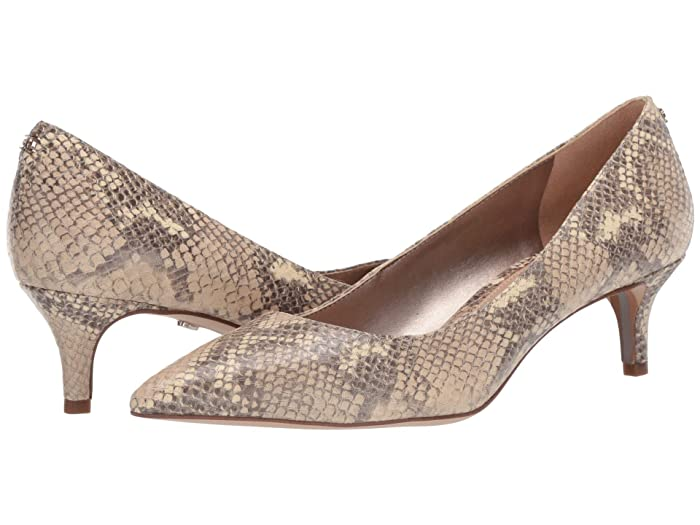 Sam Edelman  Dori (Wheat Multi Exotic Snake Print Leather) Womens Shoes