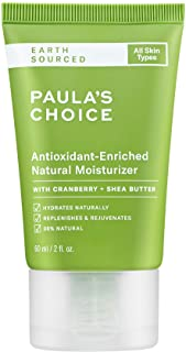 Paula's Choice EARTH SOURCED Antioxidant Enriched Natural Moisturizer | Shea Butter & Vitamin E | 98% Natural & Fragrance ...