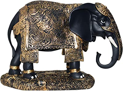 Buy Avighna Decorative Pair Of Elephant Showpiece House Warming Home Decor And Gifting Online At Low Prices In India Amazon In