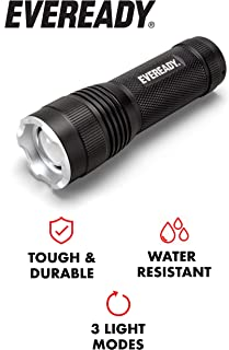 EVEREADY LED Flashlights, Bright Lumens, Durable and Easy-To-Use, Perfect Flashlights For Camping, Hiking, Emergency, Safe Flashlights For Kids, Multi-Purpose or Tactical Flashlights