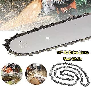 14-Inch Semi Chisel 52 Drive Links Chainsaw Chain 3/8