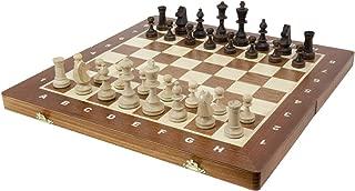 Wegiel 木製チェスセット トーナメント (No.5 47cm) [並行輸入品]