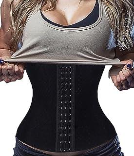 31329d57c34 Waist Trainer Corset for Weight Loss Tummy Control Body Shaper Fat Burner  Girdle