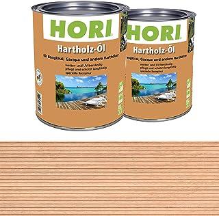 HORI Hartholz-Öl für Bangkirai, Garapa und andere Harthölzer
