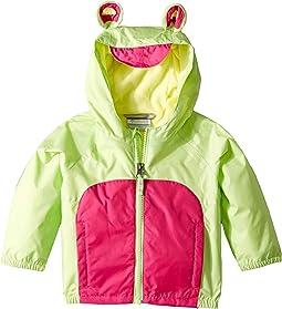 Kitteribbit™ Fleece Lined Rain Jacket (Infant/Toddler)