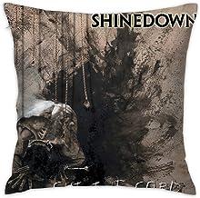 65 PPCC Shinedown Cut The Cord Polyester Fleece Comfortable Square Hug Pillowcase Fundas para Almohada (40cmx40cm)