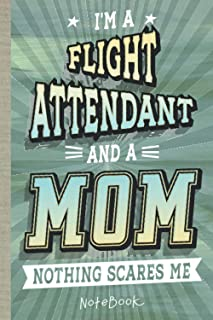 Flight Attendant: Notebook/Journal (6x9 100 Pages) Gift for Colleagues, Friends and Family
