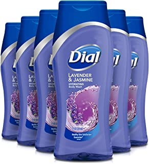 Dial Body Wash, Lavender & Twilight Jasmine with All Day Freshness, 12 Fluid Ounces (Pack of 6)